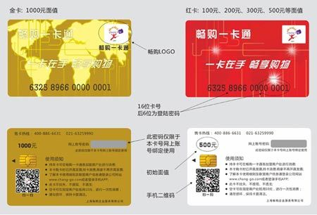 Chinese Prepaid Payment Card