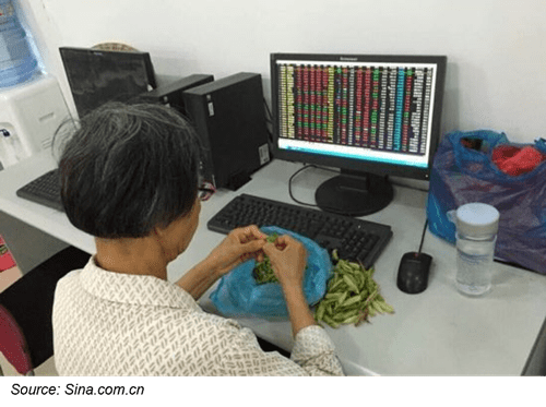 China new stock accounts