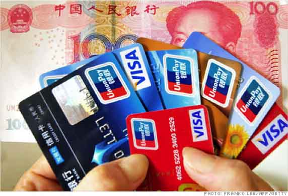 Chinese Credit Cards