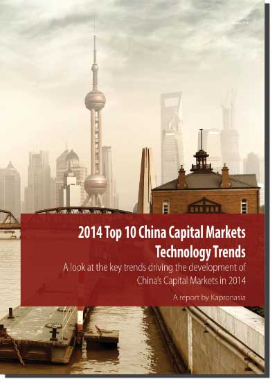 China Capital Markets Technology Trends 2014