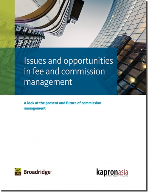 Issues and Opportunities in Fee and Commission Management