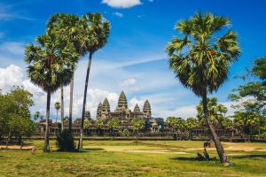 How is China influencing Cambodia's fintech development?