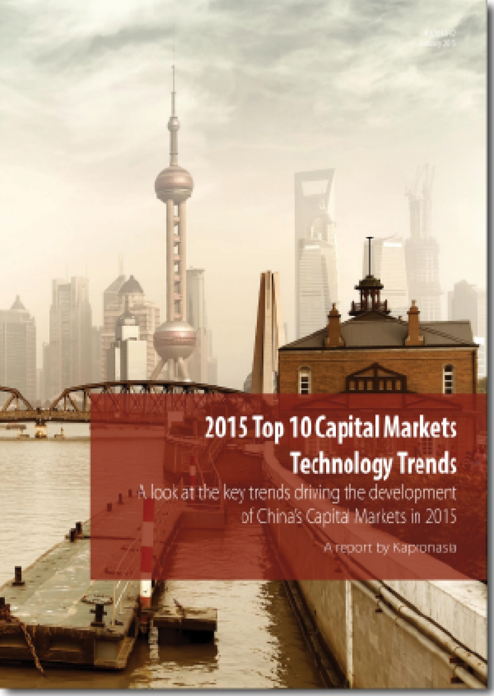 2015 Top 10 China Capital Markets Technology Trends