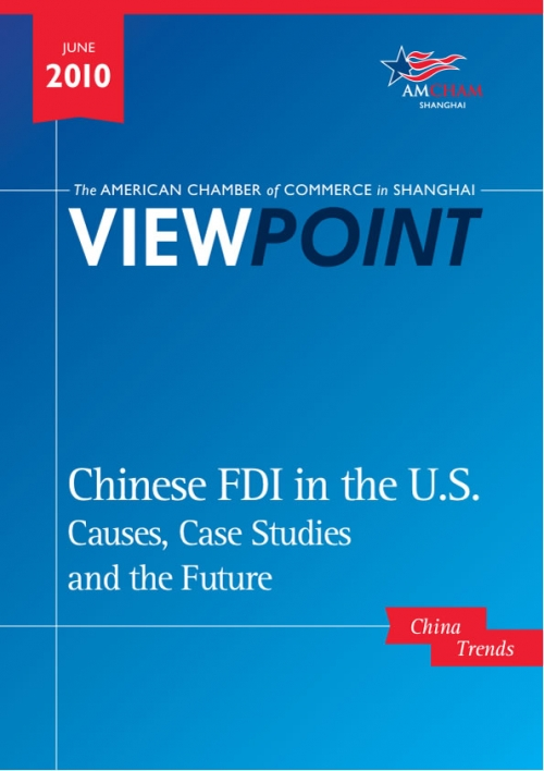 Amcham Viewpoint - Chinese FDI into the US