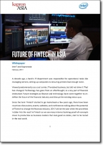 Intel and Kapronasia on The Future of Fintech in Asia