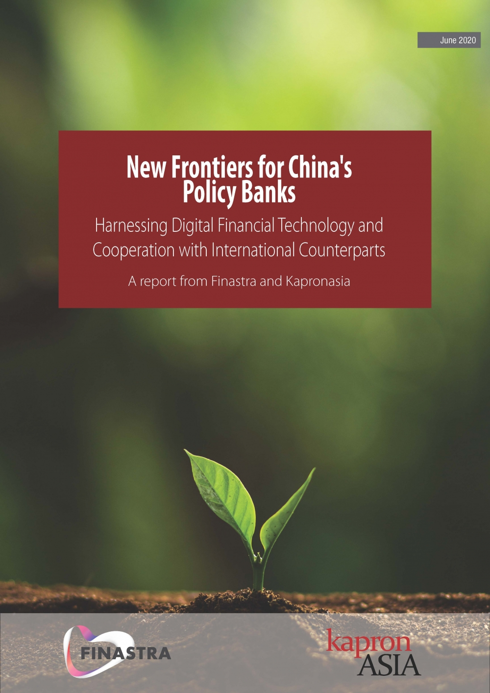 New Frontiers for China's Policy Banks - A report from Finastra and Kapronasia