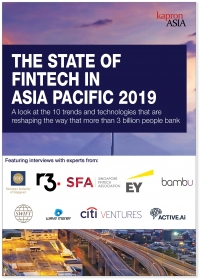 The State of Fintech in Asia Pacific 2019 - Kapronasia