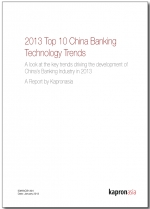Top 10 China Banking Technology Trends 2013