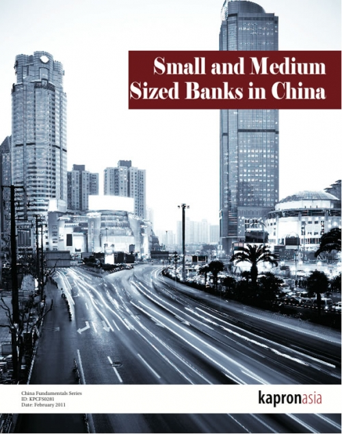 Trends in Small and Medium Banking in China